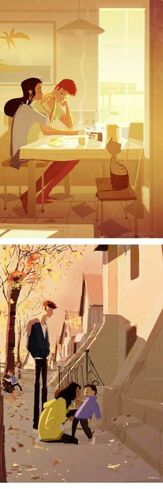 Pascal Campion. One image has a cat.