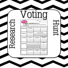 Voting in the U.S. They will answer questions guided by this worksheet ...