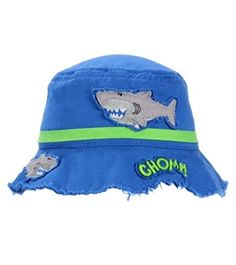Stephen Joseph Kids' Shark Bucket Hat at SwimOutlet.com