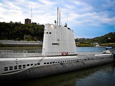 USS Requin at Carnegie Science Center Pittsburgh PA.