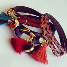 Pulseras tribal chic  by MIA💛