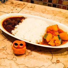 Japanese Indian curry in Kyoto! Spicy beef curry & mild vegetable curry  #mizumushikun #curry #kyoto #beef #vegetable #spicy #spicyfood #yummy #delicious #japanese #indiancuisine