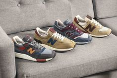 New Balance Mid-Century Modern pack #mode #style #baskets #newbalance #pack #fashion #mensfashion #fashionformen #sneakers #newbalance