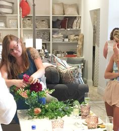 Midwest Prep | Floral Arranging Class at the Home Market MKE | http://midwest-prep.com