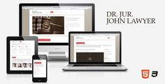 Dr. Lawyer – Responsive HTML5 One-Page Theme