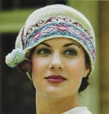 downton abbey fair isle knitted hat - Pesquisa do Google