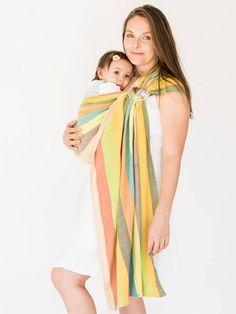 6098152f4cc Baby Carriers Australia - hug-a-bub® Organic Traditional Ring Sling -  Eucalyptus