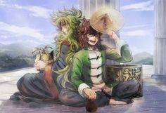 Shion y Dohko :3