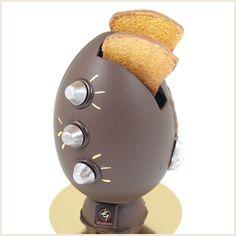 L'œuf grille-pain de Patrick Gelencser.