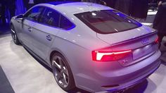 Indian-bound Audi S5 and A5 Sportback unveiled at 2016 Paris Motor Show Audi has showcased its India-bound luxury cars, Audi S5 and A5 Sportback at the ongoing 2016 Paris Motor Show. To be more specific, this is the starting public appearance of cars, which have already revealed in images. The new luxury cars highlighted with the Sportback hallmark design, sloped roofline and extended rear section.