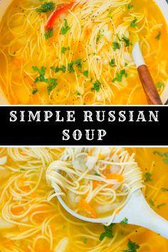 Simple Russian Soup Brocolli Soup Recipes, Brothy Soup Recipes, Instapot Soup Recipes, Whole30 Soup Recipes, Italian Soup Recipes, Campbells Soup Recipes, Cheese Burger Soup Recipes, Cabbage Soup Recipes, Tomato Soup Recipes