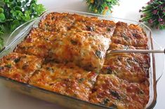 Greek Recipes, Baby Food Recipes, Cooking Recipes, Tasty, Yummy Food, Savoury Dishes, Sweet And Salty, Lasagna, Food To Make