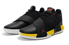 8589ea64efa Chris Paul s Jordan CP3.XI Taxi Black White-Tour Yellow-Uuniversity Red