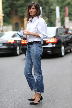 Emmanuelle Alt - simple but chic