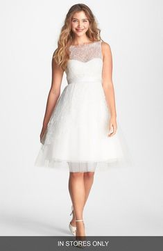 Jenny Yoo BELLA Chantilly Lace Fit & Flare  dress ANTIQUE WHITE SIZE 12 #344 NWT #JennyYoo #Formal