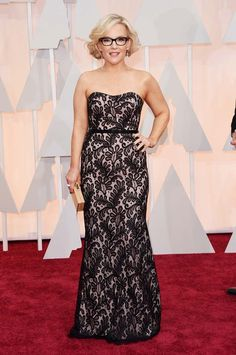 Rachael Harris Photos - Actress Rachael Harris attends the Annual Academy Awards at Hollywood & Highland Center on February 2015 in Hollywood, California. - Arrivals at the Annual Academy Awards — Part 3 Rachael Harris, Rachael Taylor, Star Wars, Vogue, People News, Oscar Dresses, Nice Dresses, Formal Dresses, Mode Inspiration