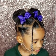 Hairstyles Braided Black Natural Black Girl Hairstyles For Kids behindthechair Black Braided Hairstyles longhair Natural olaplex Kid Braid Styles, Short Hair Styles Easy, Curly Hair Styles, Natural Hair Styles, Black Kids Hairstyles, Kids Braided Hairstyles, Easy Hairstyles For Long Hair, Natural Kids Hairstyles, African Hairstyles For Kids