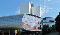 EXTENSION OF THE GERMAN NATIONAL LIBRARY,Leipzip, Germany,by Gabriele Glöckler, ZSP Architekten, Stuttgart, Germany 2011 ALUCOBOND® A2, Brilliant Metallic, Pure White  #alucobond #facade #architecture