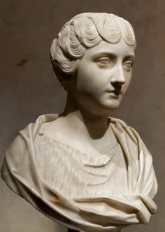 Faustina the Younger. Rome, Capitoline Museums, Palazzo Nuovo, Hall of the Emperors. Photo by Pierre-Selim Huard. Ancient Rome, Ancient Art, Saint Raymond, Roman Sculpture, Hair Setting, Roman History, Emperor, Collage Art, Sculptures