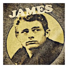 James Dean tshirt