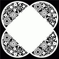 Envelope 2 by Bird; looks like a paper doily when this die cut is used.