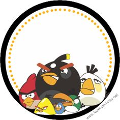 Angry Birds: Free Printable Party Kit.