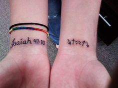 STEP SISTERS END OF STEP STUDY TATOO.                                                  He came, He died, He was buried, He rose, and He's coming again.