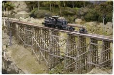 model bridges and trestles   Trestle Bridge