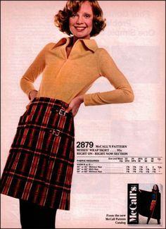 1971 McCall 039 s Patterns Catalog Vintage Print Ad Old Plaid Retro Fashion Ad | eBay