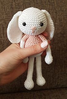 "Amigurumi Jenny the Bunny (20 cm tall) Free English Pattern - PDF Format click ""download"""