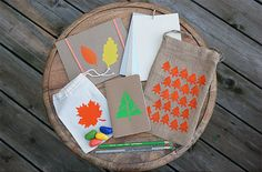 Family Craft Challenge Finalist: Nature Art Kit (vote for your favorite project!)  - nature art kit