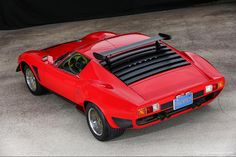 A Lamborghini Miura Jota SVR 1968 Maintenance/restoration of old/vintage vehicles: the material for new cogs/casters/gears/pads could be cast polyamide which I (Cast polyamide) can produce. My contact: tatjana.alic@windowslive.com