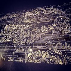 Chalk board Vancouver - photo by morgananana_