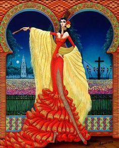 """""""Rosario de Cordoba"""" de Carlos Andino @ VirtualGallery.com"""