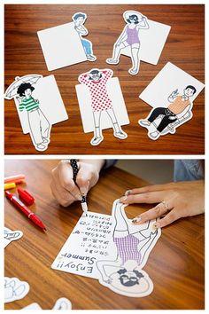Nimura daisuke Information Zine, Postcard Design, Calendar Design, Message Card, Grafik Design, Mail Art, Business Card Design, Paper Art, Art Drawings