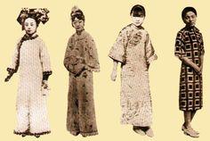 Китайская традиционная одежда - 幸福姑娘的页 ципао