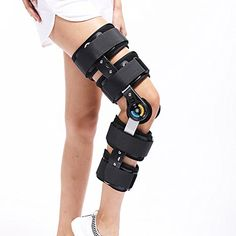 638a382e29 Hinged Knee Patella Brace Support Stabilizer Pad Belt Band Strap Orthosis  Splint Wrap Compression Sleeve Immobilizer Guard Protector ROM(range of  motion) ...