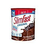 SlimFast  Original Meal Replacement Shake Mix Powder  Weight Loss Shake  10g of Protein  24 Vitamins and Minerals Per Serving  Great Taste  12.83 oz.  Rich Chocolate Royale   Losing weight is as easy as 1  2  3 when you activate the SlimFast Plan. One of the essential elements of this clinically proven weight loss program is replacing two daily meals with the great-tasting SlimFast Original Meal Replacement Shake Mix Powder. This meal replacement product that put SlimFast on the map is a