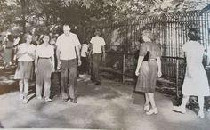 Kansas City Zoo 1950's Kansas City Zoo, Kansas City Missouri, Historical Photos, Old Photos, Great Places, Nostalgia, The Past, Memories, Times