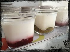 Yaourts à la confiture Healthy Eating Tips, Healthy Nutrition, Desserts Printemps, Vegetable Drinks, Food Menu, Food And Drink, Appetizers, Pudding, Tasty