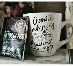 Keto coffee   L'énergie et la bonne humeur assuré ✨