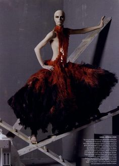 Vogue May 2011 Alexander McQueen editorial