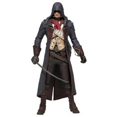 Assassin's Creed Series 3 - Arno Dorian Action Figure (15Cm) + Uplay Code For Extra Content  Manufacturer: McFarlane Toys Barcode: 787926810318 Enarxis Code: 014917 #toys #figures #Assassins_Creed #Arno_Dorian #videogames