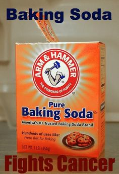 If one has cancer, chances are pretty good that one also has a fungal infection. Sodium bicarbonate (baking soda) is a frontline medicine to treat over-acidity.