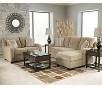 Sofas couches circa taupe sofa w moveable chaise for Ashley circa sofa chaise