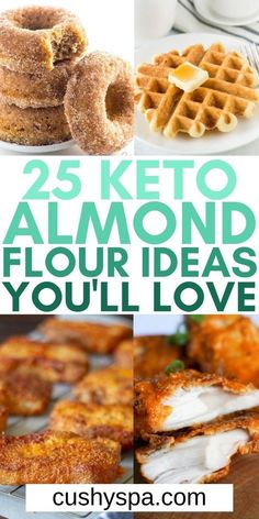 You need these handy keto almond flour recipes for your low carb diet to make incredible keto substitutes for your favorite foods. You enjoy more keto approved food with tasty low carb almond flour. #Keto #AlmondFlour
