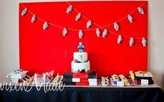 Ninjago Birthday Decor