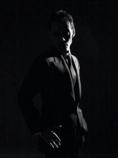 Marc Anthony--love him in all black. Classic just like him.