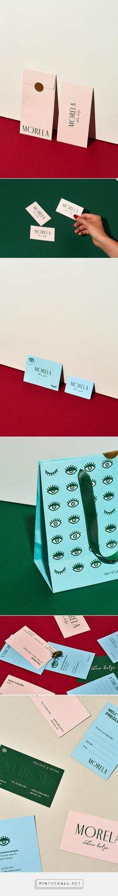Morela rebranding — logo design, stationery and packaging