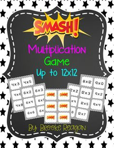 Learn multiplication facts with this fun and engaging math game, SMASH! Your students will love this math game and so will you!